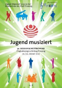 Jugend Musiziert 2015 in der Musikschule der Stadt Freising
