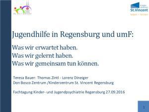Jugendhilfe in Regensburg und umf: