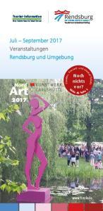 Juli September 2017 Veranstaltungen Rendsburg und Umgebung