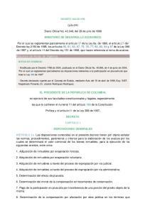 (julio 24) Diario Oficial No , del 29 de julio de 1998 MINISTERIO DE DESARROLLO ECONOMICO