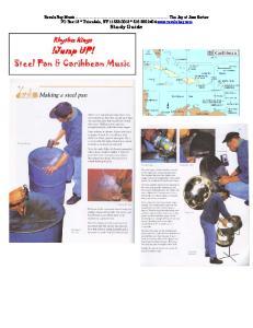 !Jump UP! Steel Pan & Caribbean Music. Rhythm Kings