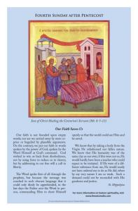 June 24: Birth of John the Baptist