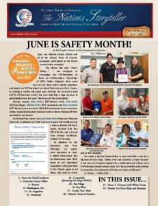 June is safety month!