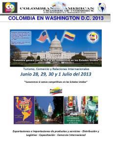 Junio 28, 29, 30 y 1 Julio del 2013