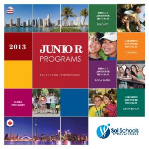 JUNIOR PROGRAMS TEENAGE ADVENTURE PROGRAM TORONTO CHILDREN S ADVENTURE PROGRAM TORONTO TEENAGE ADVENTURE PROGRAM BOCA RATON
