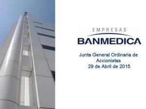 Junta General Ordinaria de Accionistas 29 de Abril de 2015