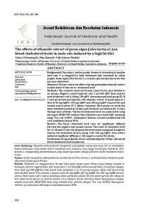 Jurnal Kedokteran dan Kesehatan Indonesia