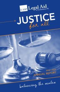 justice ANNUAL REPOR