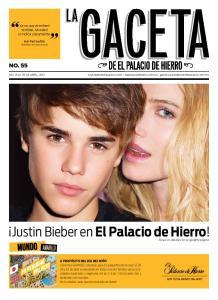 Justin Bieber en El Palacio de Hierro!