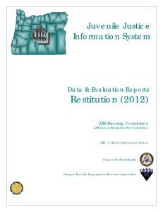 Juvenile Justice Information System