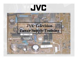 JVC Television Power Supply Training