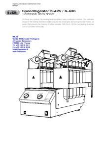 K-436 Technical data sheet