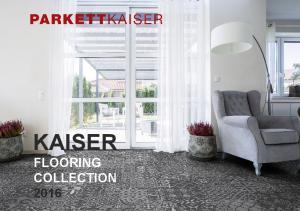 KAISER FLOORING COLLECTION 2016