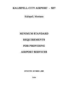 KALISPELL CITY AIRPORT - S27