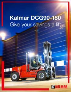 Kalmar DCG Give your savings a lift
