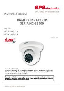 KAMERY IP - APER IP SERIA NC-E3000