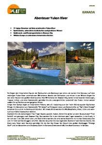 KANADA Abenteuer Yukon River
