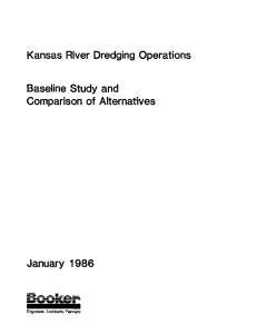 Kansas River Dredging Operations