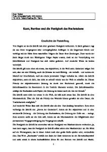 Kant, Barthes und die Festigkeit des Buchstabens