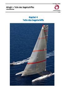 Kapitel 4 Teile des Segelschiffs