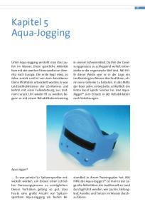Kapitel 5 Aqua-Jogging