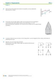 Kapitel 6: Trigonometrie