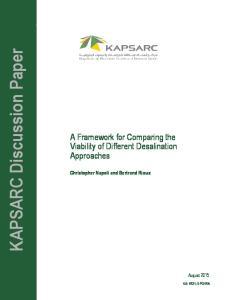 KAPSARC Discussion Paper