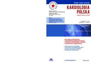 KARDIOLOGIA POLSKA Polish Heart Journal