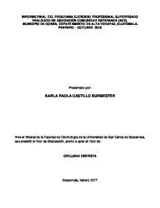 KARLA PAOLA CASTILLO BURMESTER