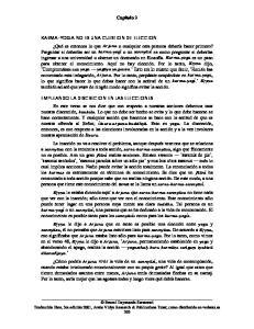 KARMA-YOGA NO ES UNA CUESTION DE ELECCION EMPLEANDO LA DISCRECION EN LAS ELECCIONES