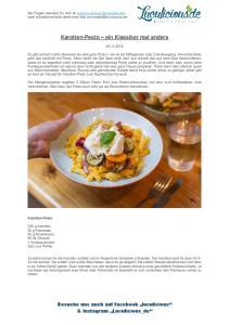 Karotten-Pesto ein Klassiker mal anders