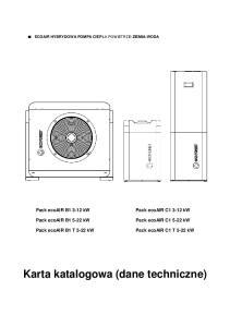 Karta katalogowa (dane techniczne)