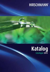 Katalog Catalogue 2012