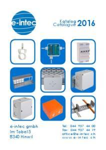 Katalog Catalogue 2016