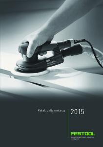 Katalog dla malarzy 2015 Katalog dla malarzy 2015