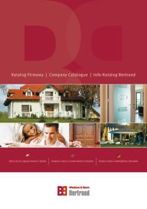 Katalog Firmowy Company Catalogue Info-Katalog Bertrand