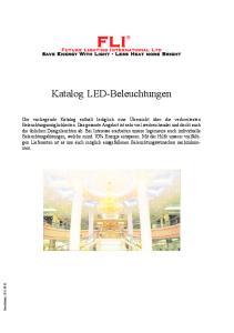 Katalog LED-Beleuchtungen