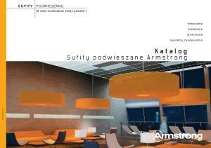 Katalog Sufity podwieszane Armstrong