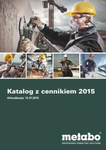Katalog z cennikiem 2015
