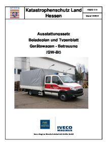Katastrophenschutz Land Hessen