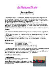katedamate.de Sommer Hanni (Shorts und Dreiviertel-Hose)