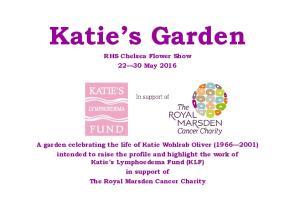 Katie s Garden RHS Chelsea Flower Show May 2016