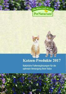 Katzen-Produkte Natürliche Futterergänzungen für die optimale Versorgung Ihrer Katze