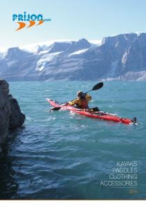 KAYAKS PADDLES CLOTHING ACCESSORIES