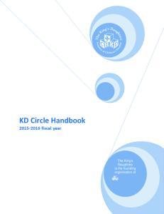 KD Circle Handbook fiscal year