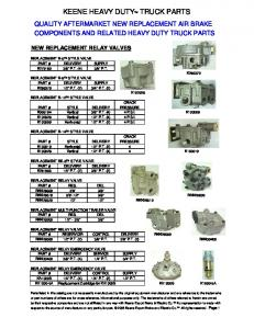 KEENE HEAVY DUTY TRUCK PARTS