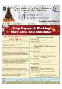 Keep Maynooth Working Shop Local This Christmas