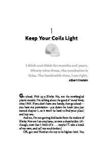 Keep Your Coils Light