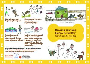 Keeping Your Dog Happy & Healthy