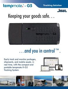 Keeping your goods safe and you in control
